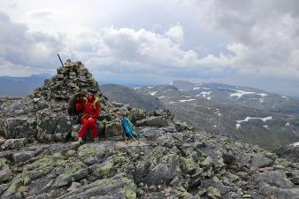 On top of Skardsfjella