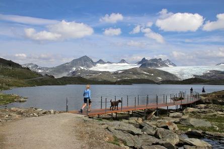 At Sognefjellshytta