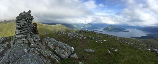 On top of Haddalshornet