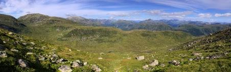 Tjørnelandsdalen valley