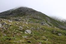 Skipping this ridge to Gravfjellet