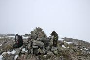 On top of Gravfjellet