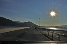 The new bridge across Tresfjorden