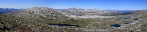 Panorama towards Grånosi and Bleia