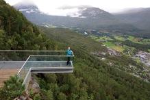No vertigo here...