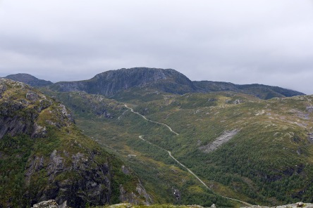 Blåfjellet - visited later in the day