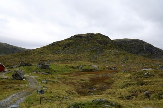 At the foot of Blyfjellet