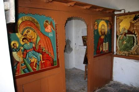 A look inside the chapel
