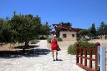 Entering the Sanctuary of Apollon Ylatis