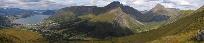 Saudehornet massif