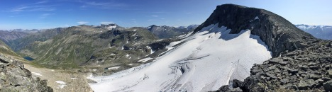 Fedalsnibba and the glacier