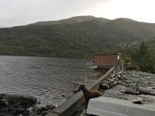 By lake Stemmedalsvatnet
