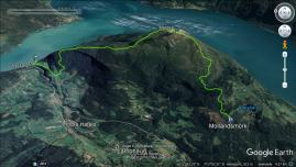 Our route across Molden
