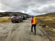 Heading out from Kvilsteinsvatnet