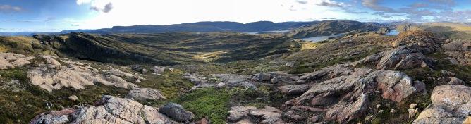 Iphone8 panorama (1/2) from Raudberg