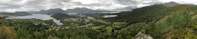 View from Dyrkyrkja
