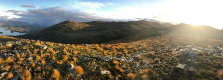View towards Øyrahornet