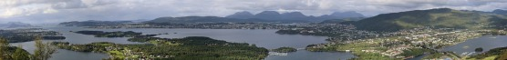 Ålesund - Spjelkavik panorama