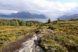 Descending Leirvågfjellet