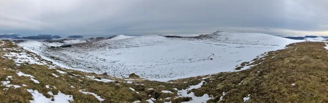 Iphone8 panorama from Mosvarden (1/2)