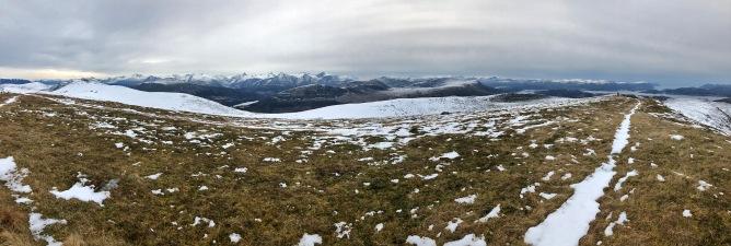 Iphone8 panorama from Mosvarden (2/2)