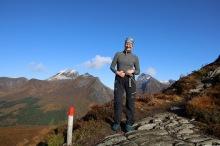 On the Grøthornet ridge