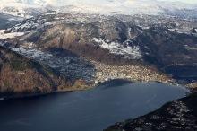 Sogndal, zoomed in