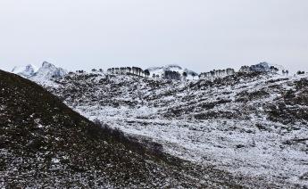 The cool Kiberget - Nevstadnipa ridge