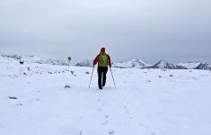On Skafjellet's west ridge